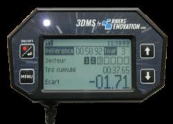 écran 3DMS secteurs chrono led amélioration