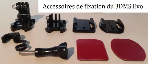 Accessoires fixation 3DMS Evo